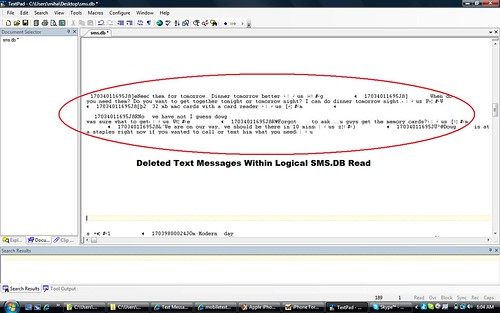 sms db deleted messages