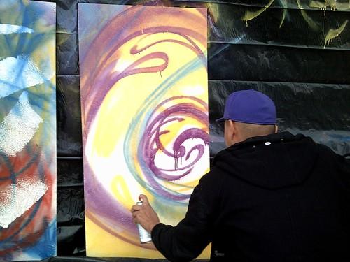 Cris Spray Painting