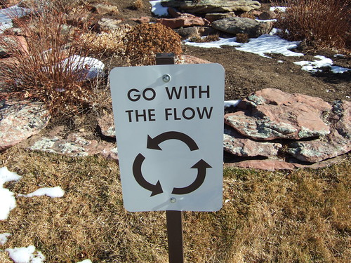 Go With The Flow [Sign] by Dave Dugdale, on Flickr