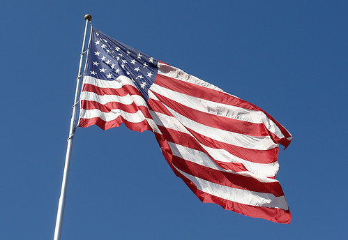 Giant American Flag by SearchNetMedia