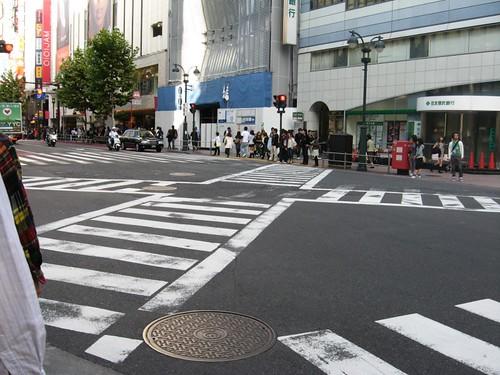 The Shibuya Scramble