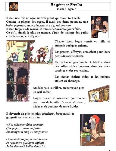 Le Géant De Zéralda Tapuscrit : géant, zéralda, tapuscrit, Bonheur, Famille:, Fiche, Lecture,, Géant, Zeralda...