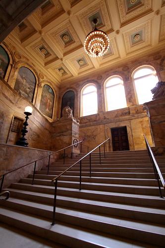 Staircase, Boston Public Library
