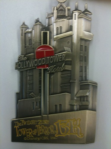 Tower of Terror 13K medal