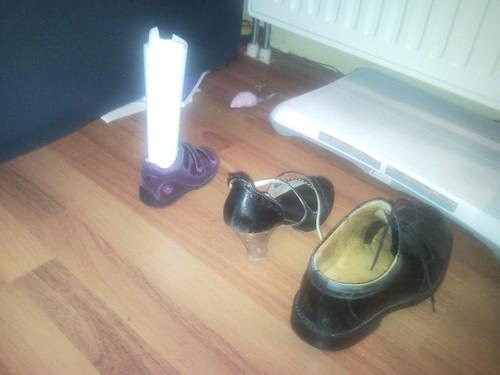 Schoentje zetten