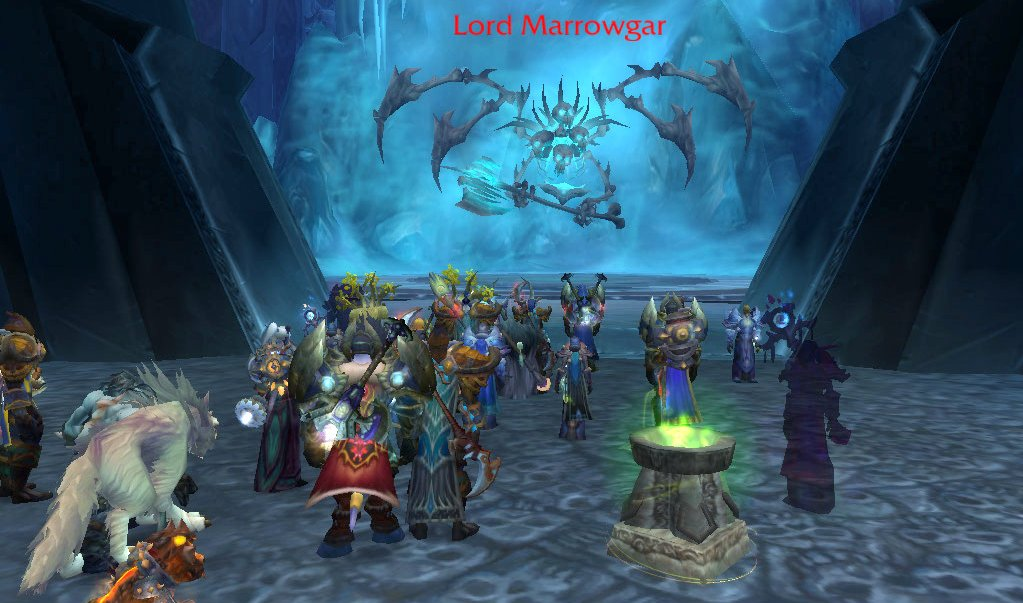 first moments in icecrown