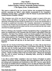 Law Society of Scotland report on solicitor Andrew Penman Stormonth Darling Kelso Synopsis
