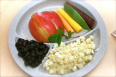 Eat Your Colors on Portion Control Plates