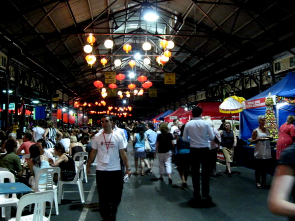 Melbourne Food & Wine Festival: Hawkers' Market