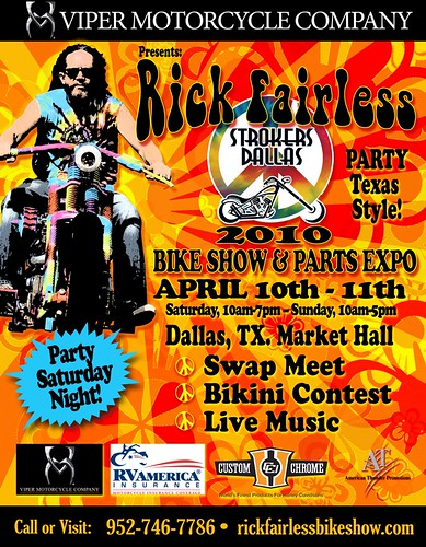 Rick Fairless 2010 FLYER