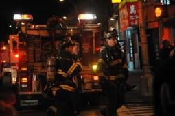Seven Alarm Blaze at 285 Grand Street, Manhattan