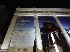 2010 VANCOUVER WINTER OLYMPIC GAMES | THE BAY: 2010 WE WERE MADE FOR THIS GRANVILLE STREET