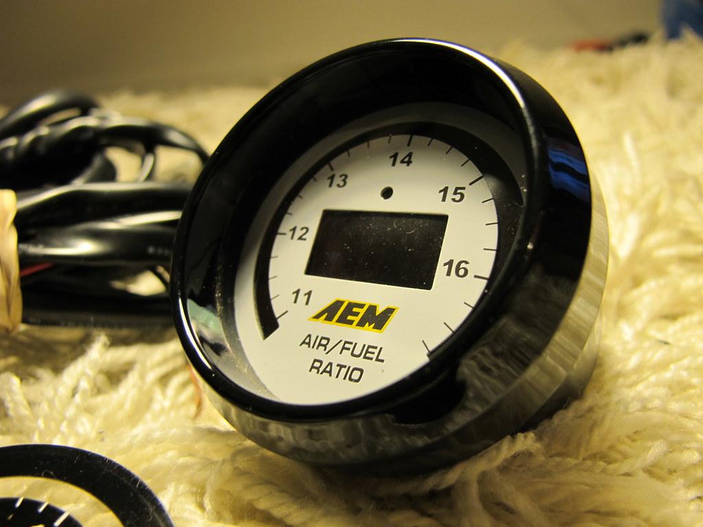 aem oil pressure gauge wiring diagram pt cruiser cd player wideband safc 2 panel autometer water temp