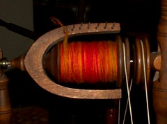 My first bobbin of hanspun
