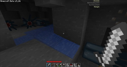 Minecraft - Under Water Squids!
