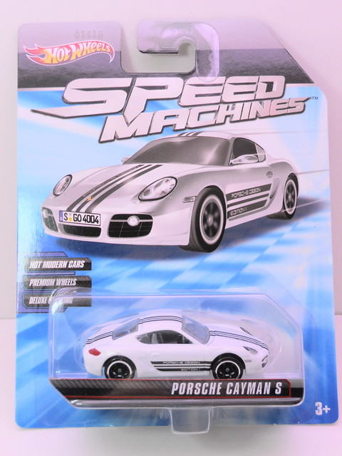 hot wheels speed machines porsche cayman S (1)