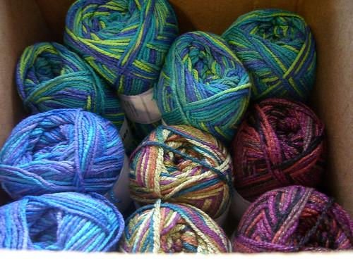 sock yarn stash