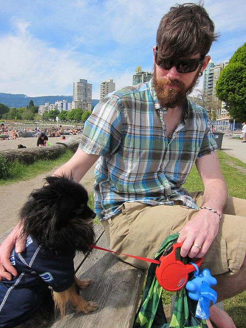 Taylor & Kichou @ English Bay