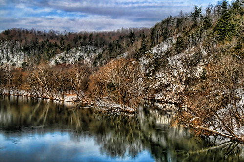 A James River Winter