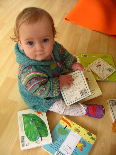 27/365 Eva the Bookworm