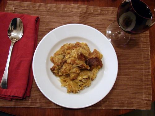 Dinner:  February 15, 2010