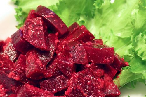 marinated beets