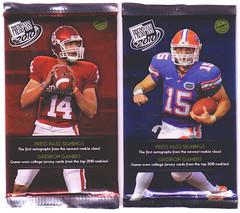 2010 Press Pass Football Packs