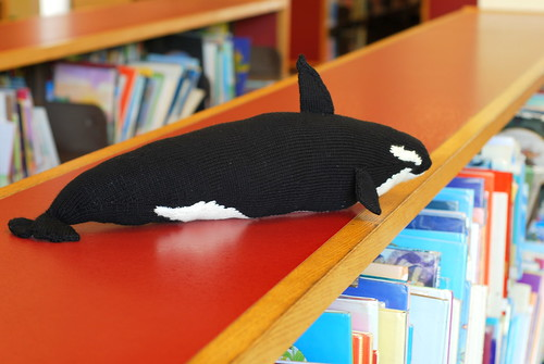 Happy Thing: FINISHED Orca (Swimming Amongst the Books)