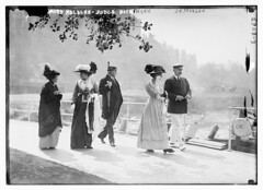 Miss Haldane, Judge Dickinson, J.P. Morgan (LOC)