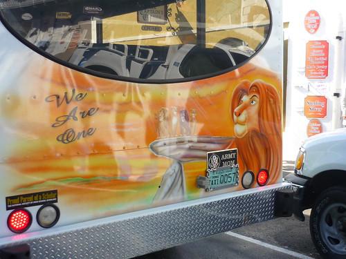 Disney designed maxi taxi