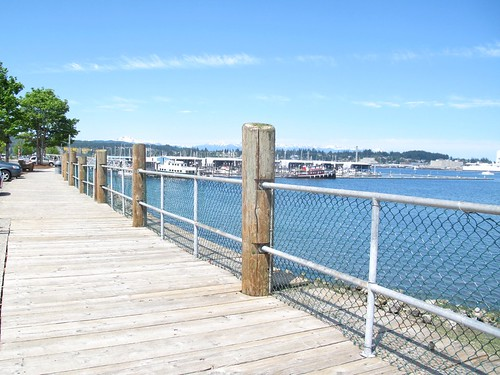 Port Orchard Boardwalk by Gexydaf