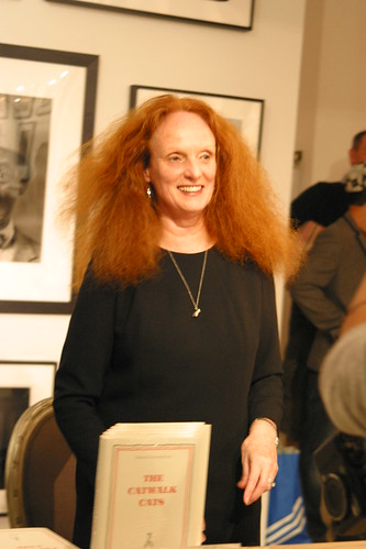 Grace Coddington Smiles