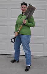 The Travelling Shovel of Death.