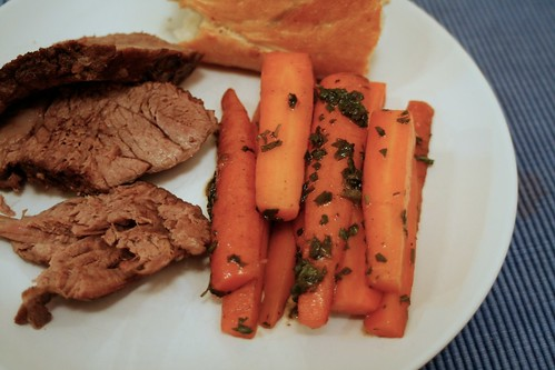 Pot Roast and Glazed Carrots