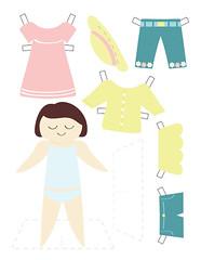 Paper doll - sheet 1