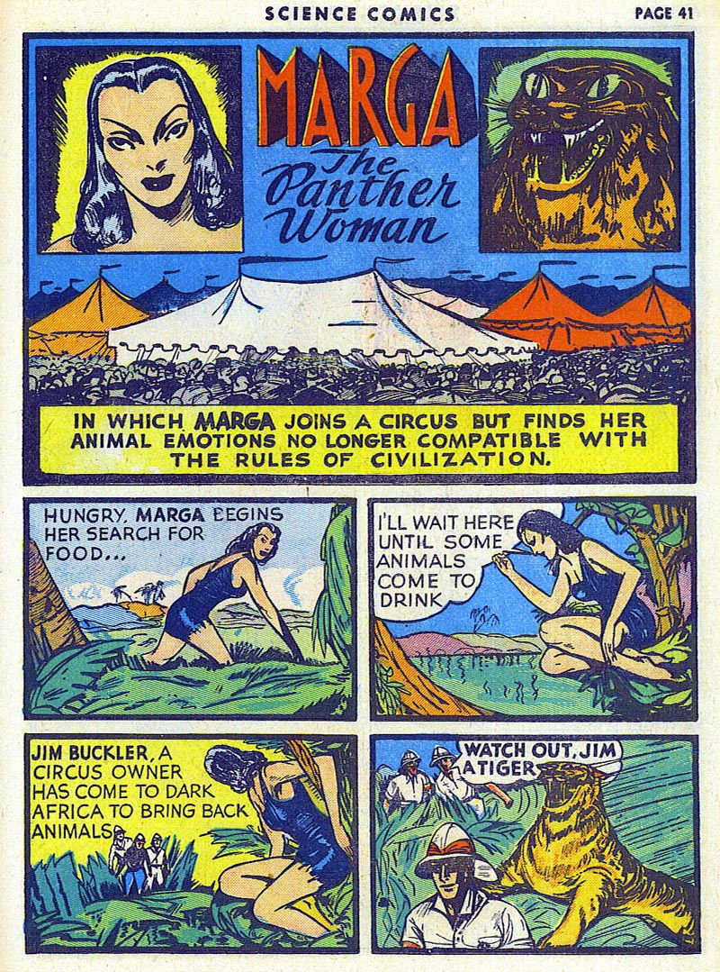 Science Comics 6 - Marga (July 1940) 01