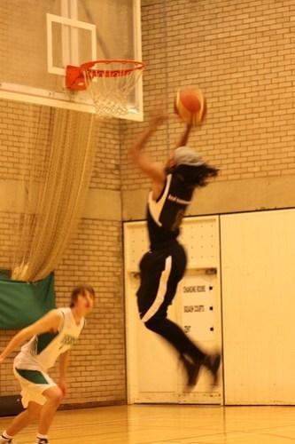 Basketball v. Leeds, 20091209, Rachel Elgar, 2
