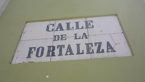 Old San Juan street sign