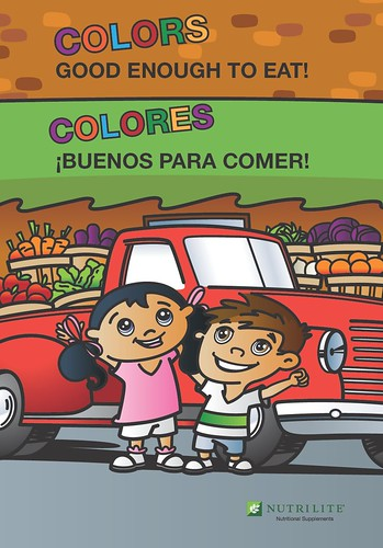 Nutrilite Kids Coloring Book