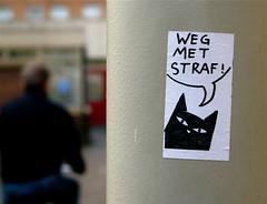 Weg met straf = Away with penalty