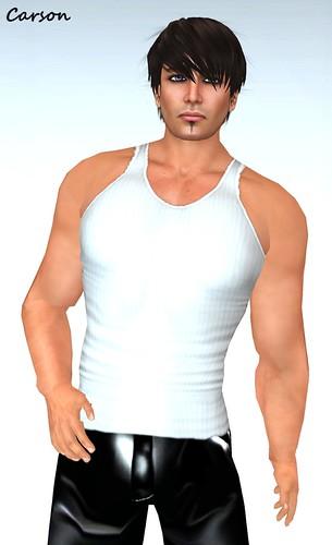 INDI Designs - Rocco White Undershirt  ($1L)