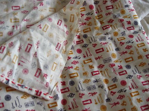 cartographic fabric