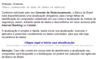 phishing scam banco do brasil