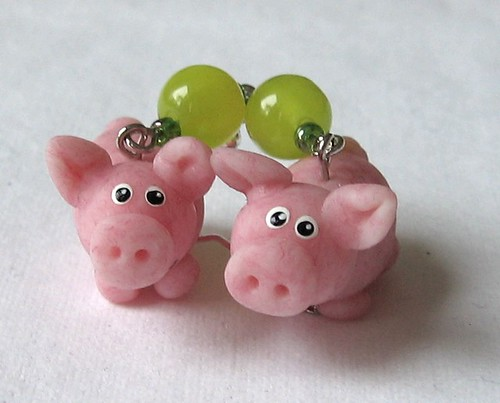 Schweinchen Ohrringe