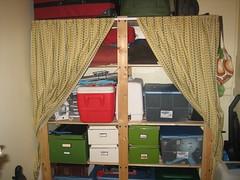 Storage shelf reorg-after