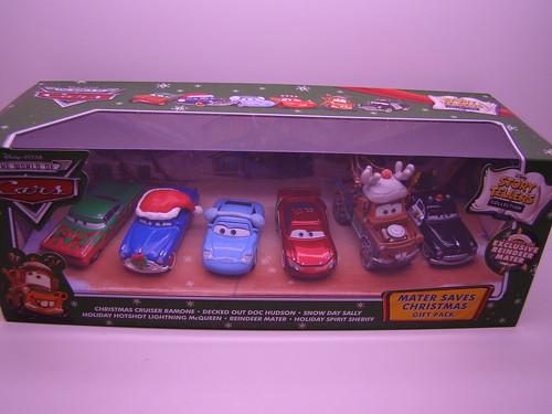 Disney CARS Storytellers Christmas boxset (5)