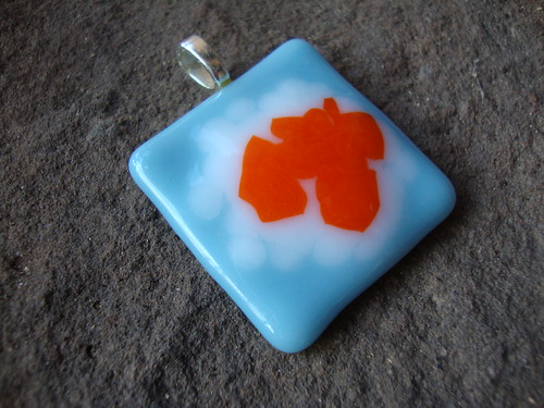 My Fused Glass Pendant Necklaces