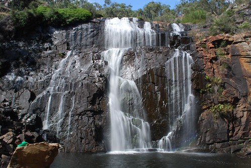 Mackenzie Falls - soft flowing water