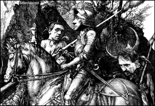 il cavaliere,la morte e il diavolo