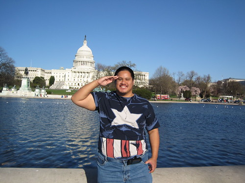 Me Fronting Capitol Hill